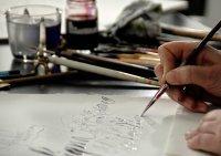 Bild zu Kalligrafie-Sommer Seminar - Teil 2– an zwei Samstagen