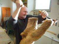 Bild zu Holzbildhauen