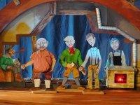 Bild zu Kindertheaterreihe: Müffel, Schnüffel, Glückspantüffel