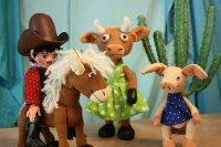 Kindertheater: Cowboy Klaus und das pupsende Pony