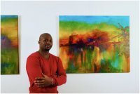 Bild zu Colors of Genesis: Afrikanischer Kunstsalon  Colors of Genesis