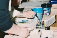 Bild zu Aquarell-Acryl-Pastell- und Zeichenkurs