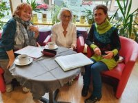 Literaturcafé im Winter