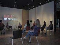 """""""Art Protest - Künstlerinnen-Interviews in Halle 1"""" © Germanisches Nationalmuseum"""