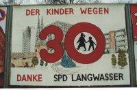 150 Jahre SPD in Nürnberg - Errungenschaften der SPD in Langwasser