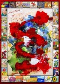 Farben sind das Licht der Seele - Ausstellungsbesichtigung