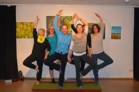 Bild zu Hatha-Yoga - Flexibilität und Kraft entwickeln