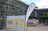 Bild zu Besichtigung des Neubaus der Grundschule und Hort Depandance Zugspitzstraße