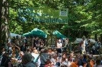 Reichswaldfest - Wald-Familienfest beim Schmaußenbuck-Aussichtsturm oberhalb vom Tiergarten