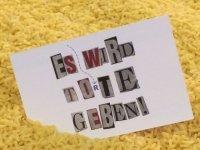 Es wird To(r)te geben! Buchstaben können Leben retten