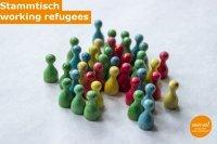 """Stammtisch """"working refugees"""""""