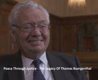 Peace Through Justice - The Legacy Of Thomas Buergenthal (Erstvorführung)
