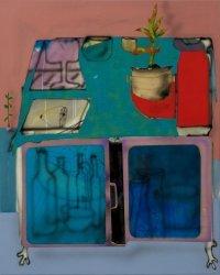 Fabian Treiber. A Minibar in a Large Scale Room