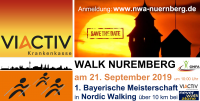 Bayerische Meisterschaft in Nordic Walking 10 km bei Never Walk Alone Nürnberg e.V. © Never Walk Alone Nürnberg e.V.